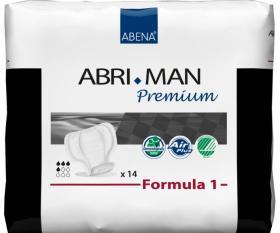 protection masculine abri-man premium Formula 1