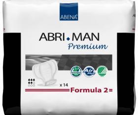 protection masculine abri-man premium Formula 2